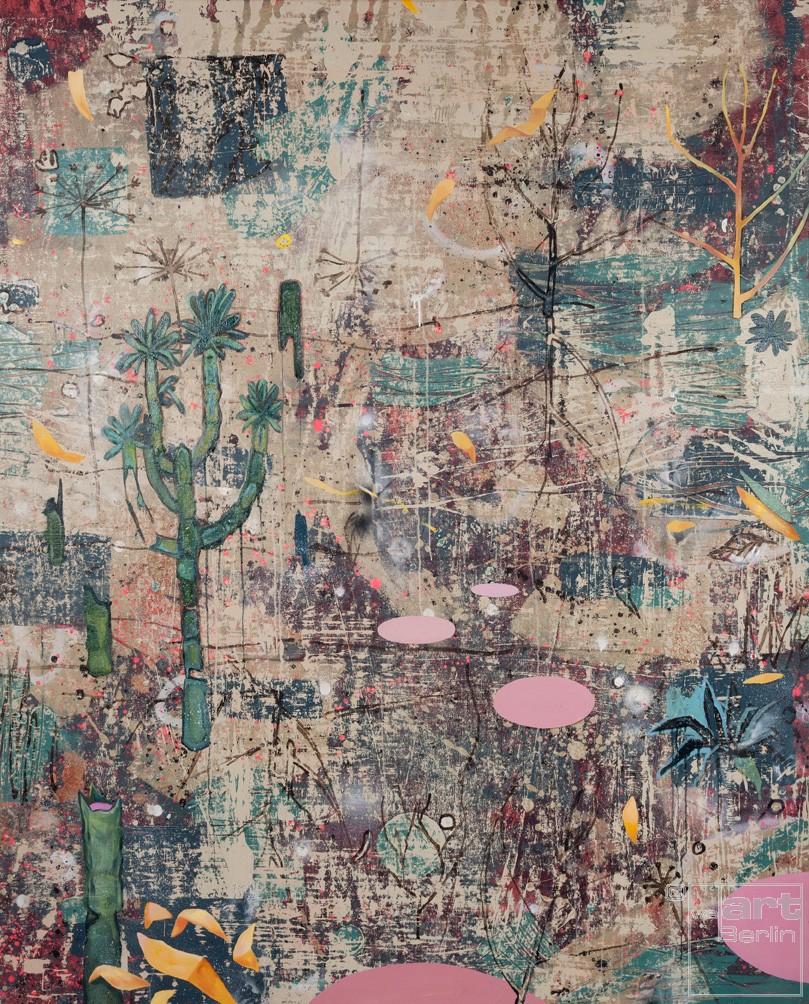 Spurensicherung_09, Malerei von Malwin Faber