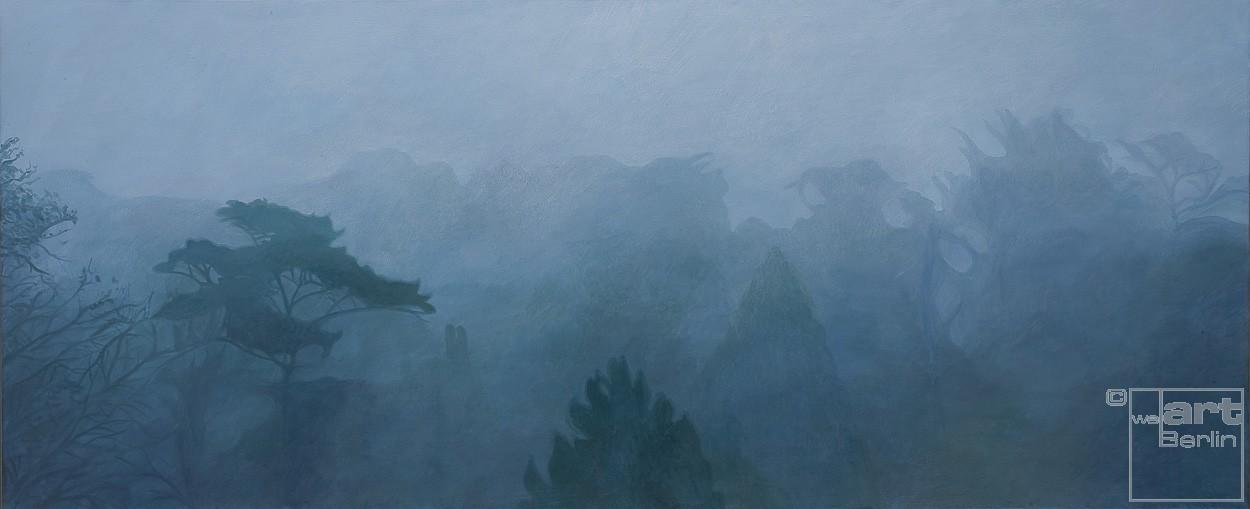 Der Tag kommt   Malerei von Sven Wiebers   Acryl auf Baumwolle, realistisch