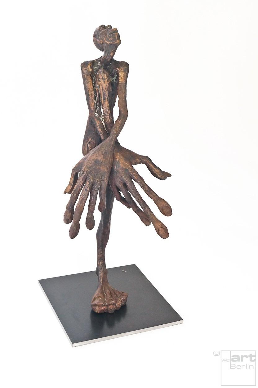SchamDi | Bronze Plastik, Skulptur von Tim David Trillsam, Edition