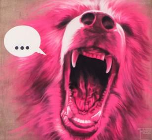 Beta-Tier | Malerei von Jakob Tory Bardou, innerfields | Acryl auf Leinwand, Urban Art