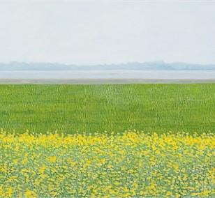 Fischland | Malerei von Sven Wiebers | Acryl auf Baumwolle, realistisch
