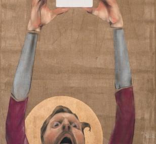 Scheinblind | Malerei von Veit Tempich, innerfields | Acryl auf Leinwand, Urban Art