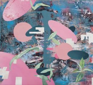 Spurensicherung 11, Malerei von Künstler Malwin Faber