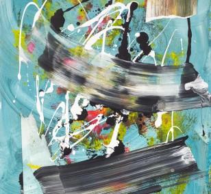 Zwischenräume_6.2 | Malerei von Malwin Faber