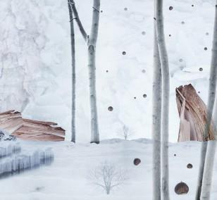 Winter Landscape | Fotografie von Theresa Lambrecht, Fotodruck auf Alu-Dibond, limitierte Edition