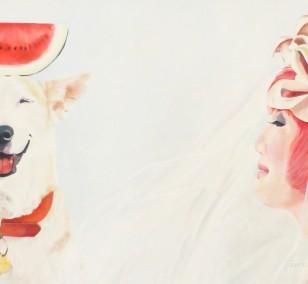Wollen wir tauschen? | Malerei von Eva Nordal | Öl auf Baumwolle, realistisch