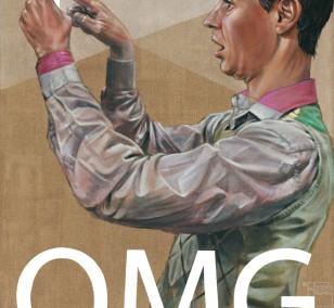 OMG | Malerei von Veit Tempich, innerfields | Acryl auf Leinwand, Urban Art