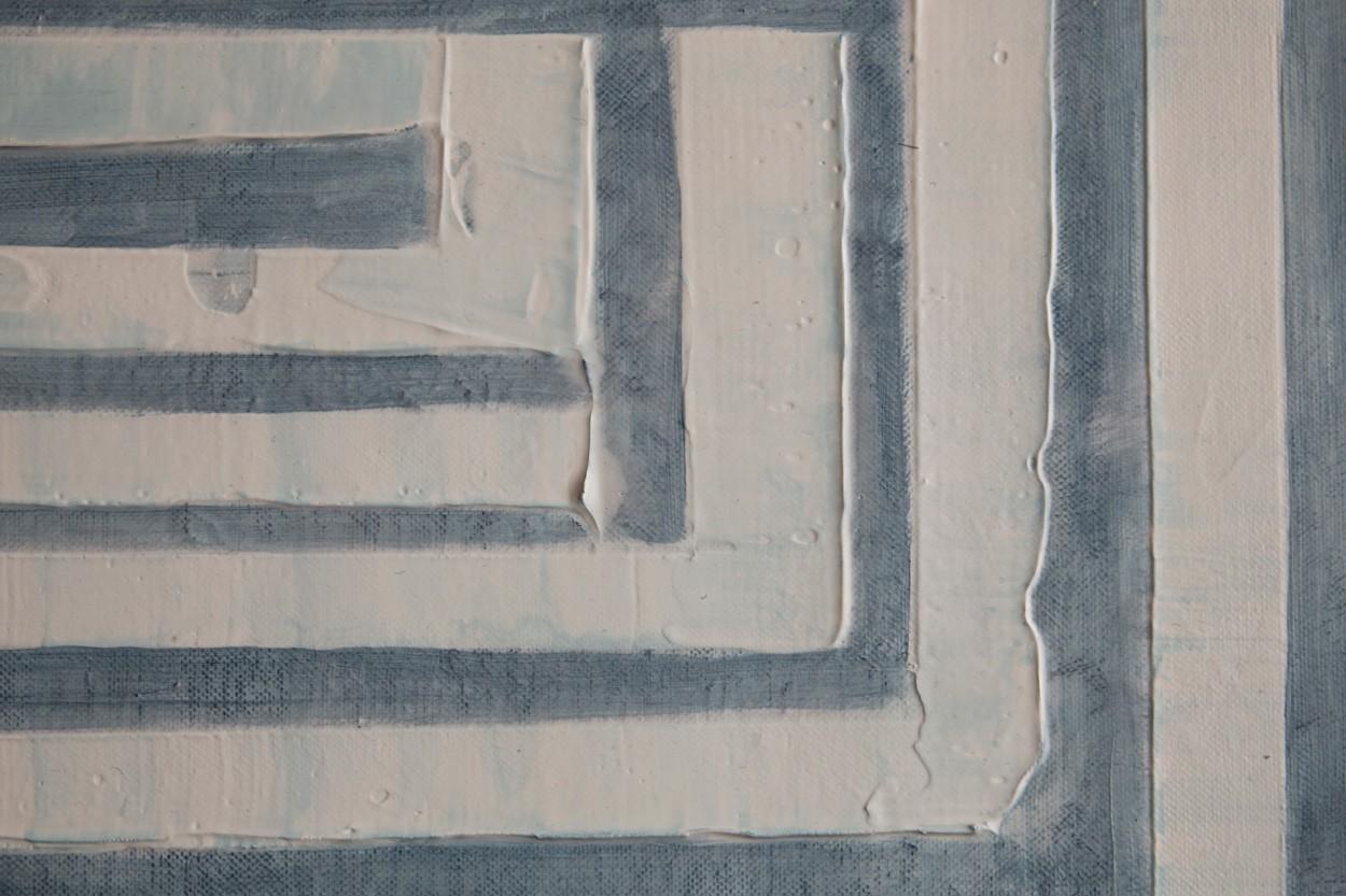 Frankie Goes to Montreal, Detail, Malerei von Lali Torma | Acryl auf Leinwand