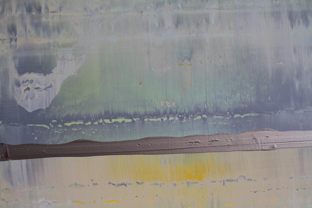 Prisma 3 - zirkumbinäre Dämmerung, Detail, Malerei   Lali Torma   Acryl auf Leinwand