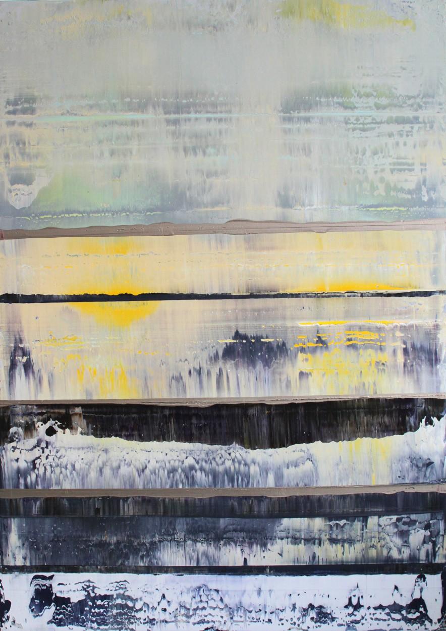 Prisma 3 - zirkumbinäre Dämmerung   Malerei von Lali Torma   Acryl auf Leinwand