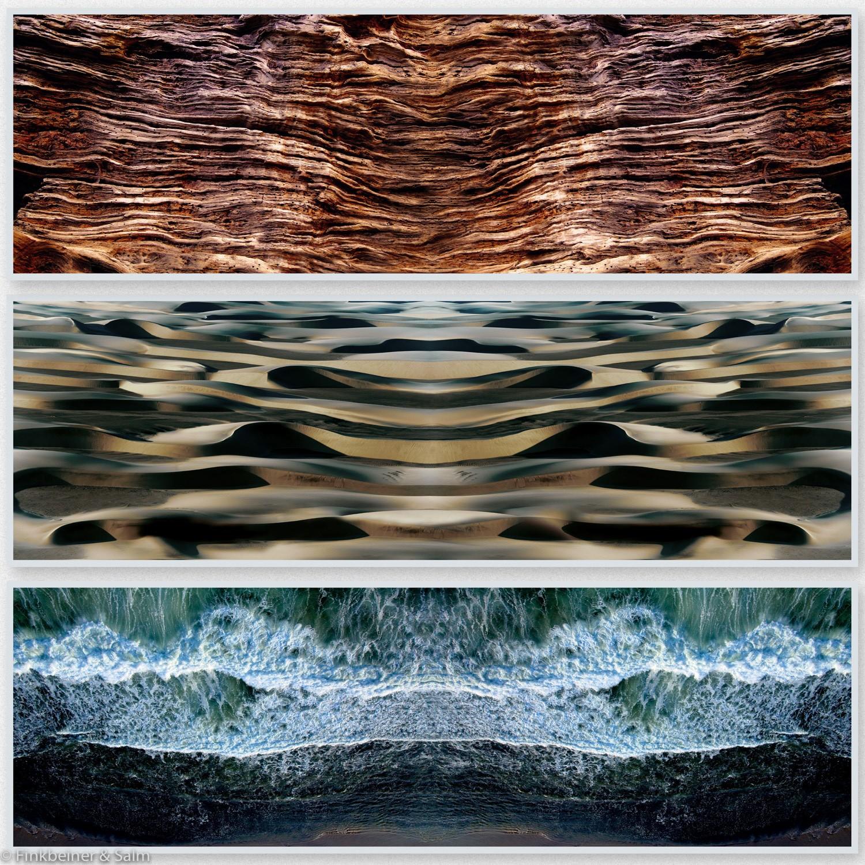 Ohana 1, Tryptichon | Fotografie von Finkbeiner & Salm, Direktdruck auf Alu-Dibond-Platte, limitierte Edition