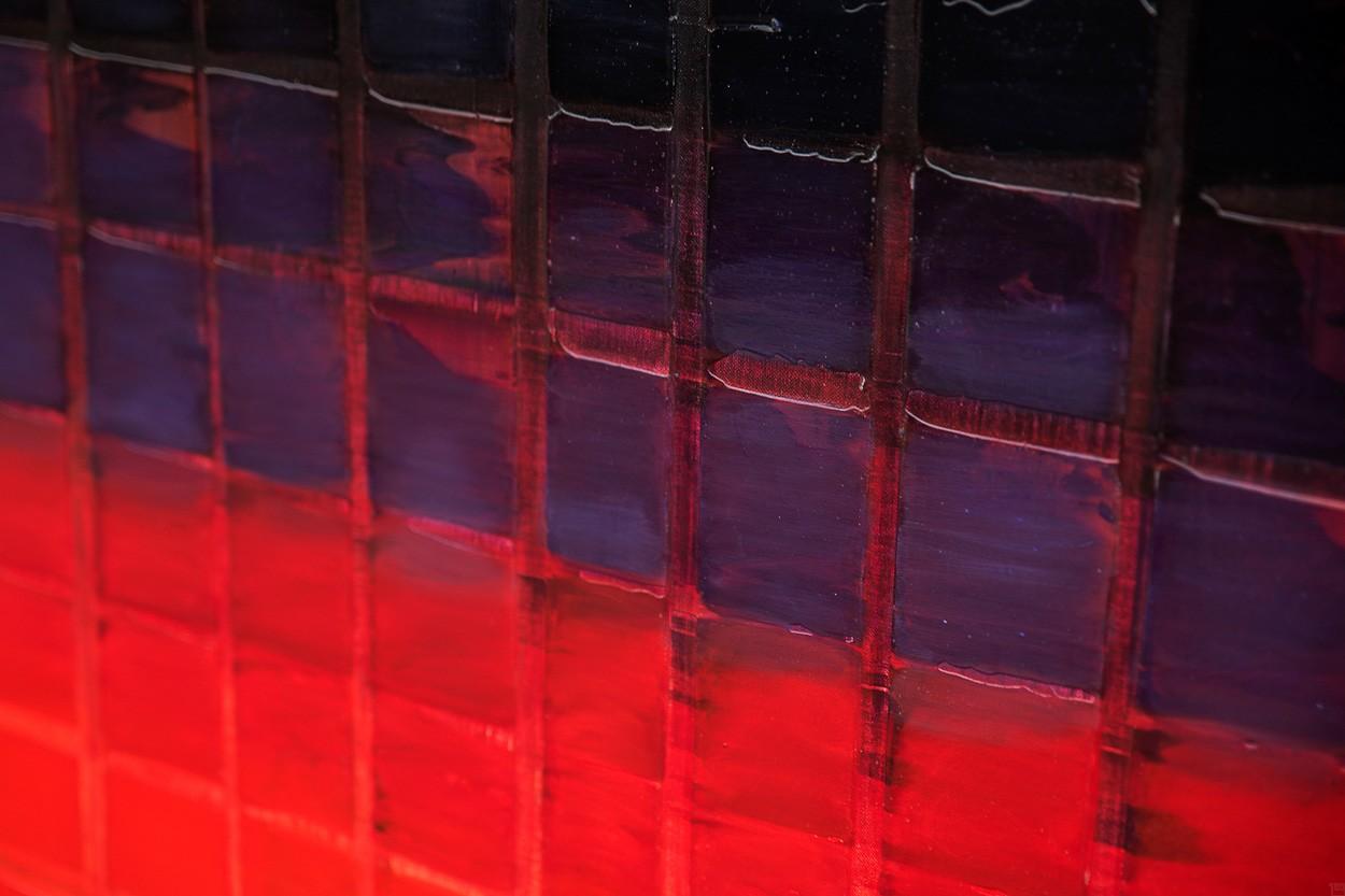 Unter Druck, Ausschnitt | Malerei von Lali Torma | Acryl auf Leinwand, abstrakt