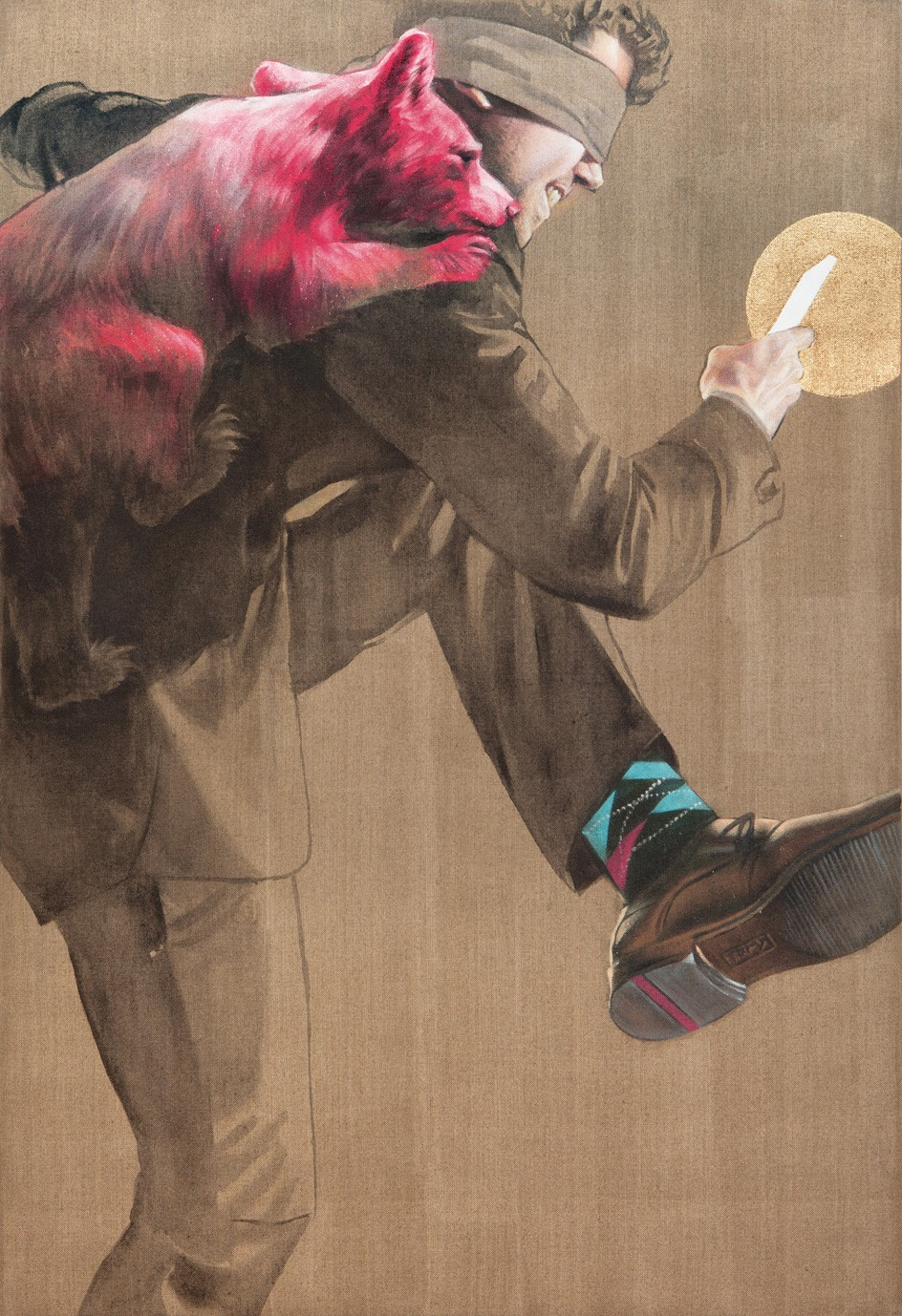 Schrittmacher | Malerei von Jakob Tory Bardou, innerfields | Acryl auf Leinwand, Urban Art