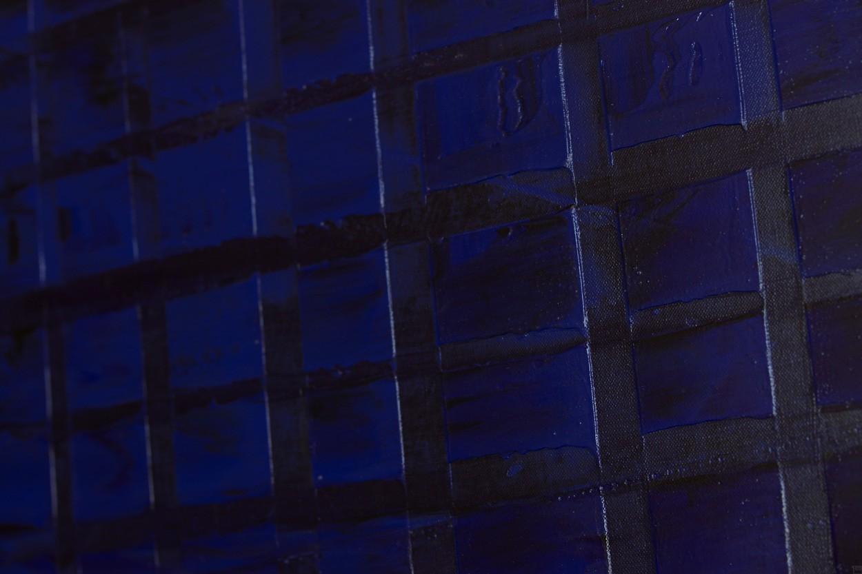 Vor Dekonstruktion, Detail, Malerei von Lali Torma | Acryl auf Leinwand, abstrakt