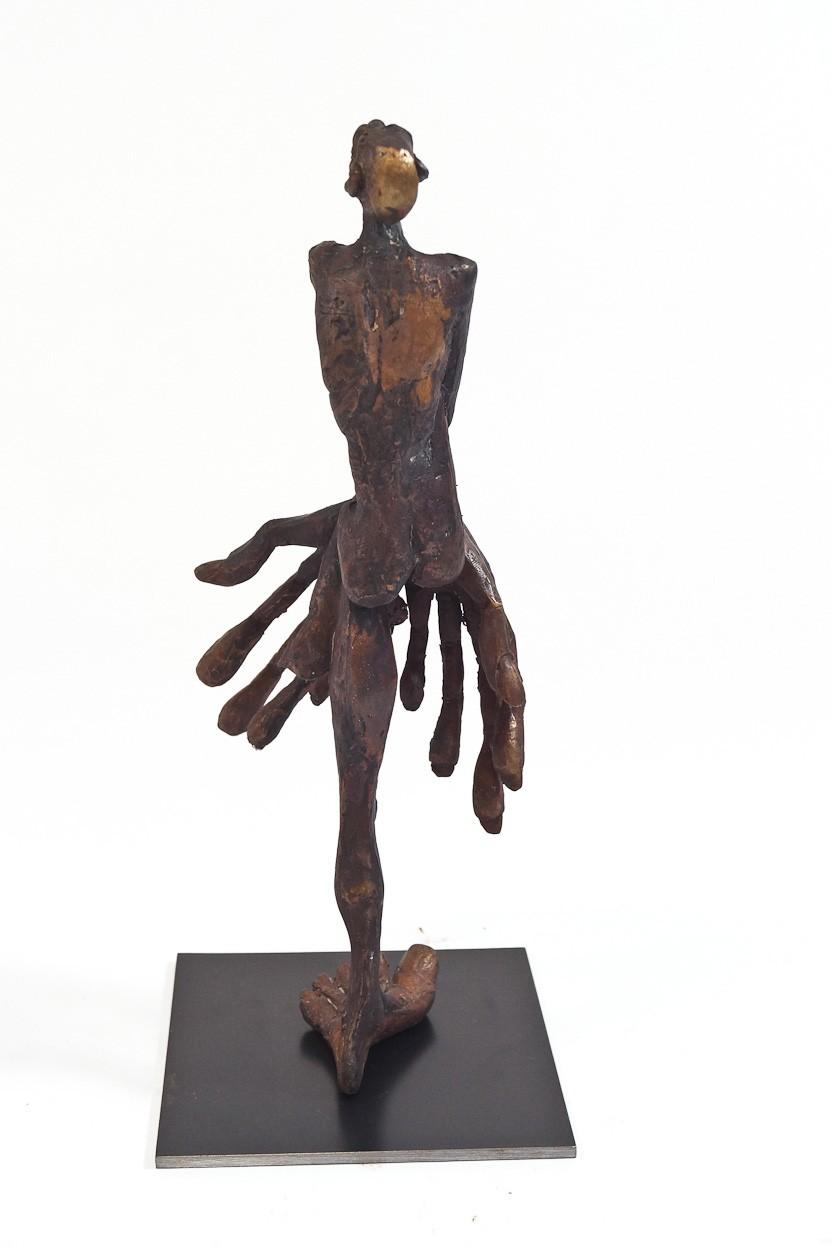 SchamDi - Rückseite, Bronze Plastik, Skulptur von Tim David Trillsam, Edition