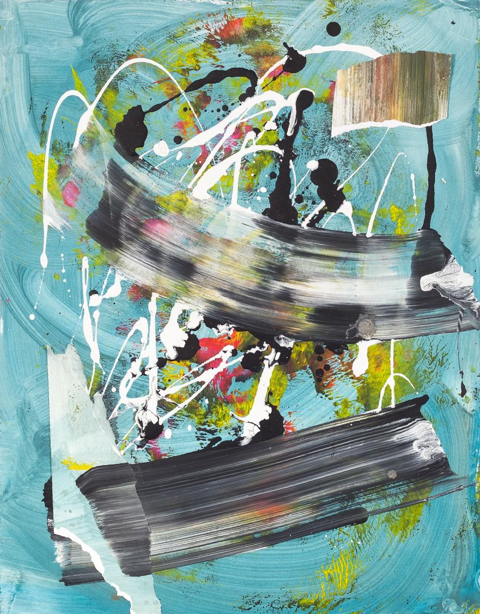 Malerei Zwischenräume_6.2   Künstler Malwin Faber