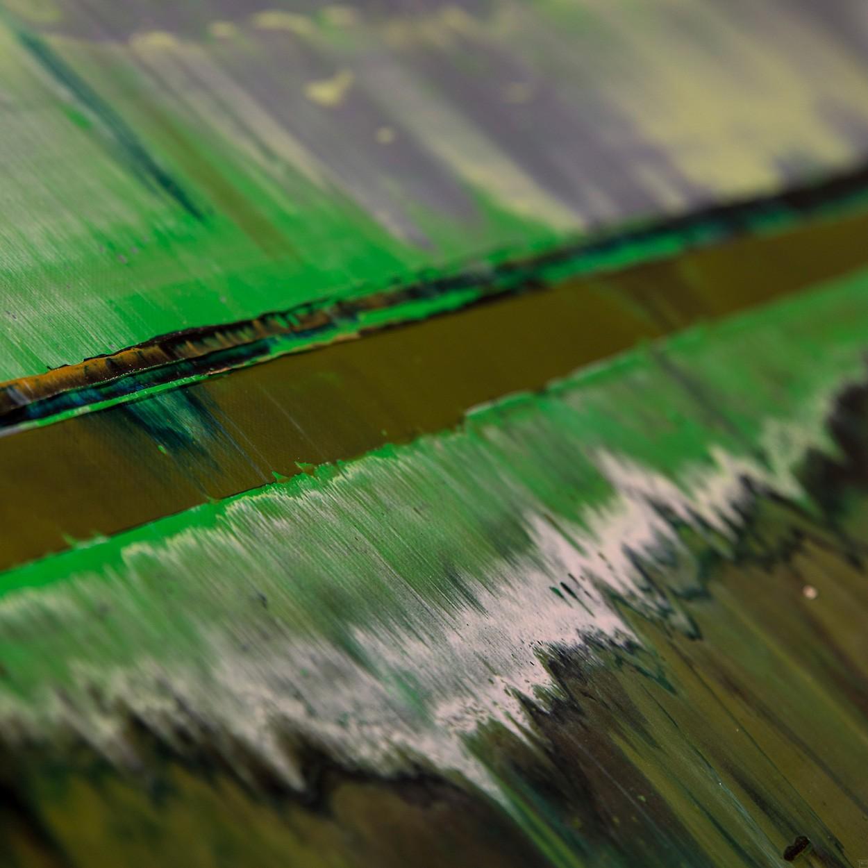 Prisma 6 - Kleiner Fluss - Detail | Malerei von Lali Torma | Acryl auf Leinwand, abstrakt