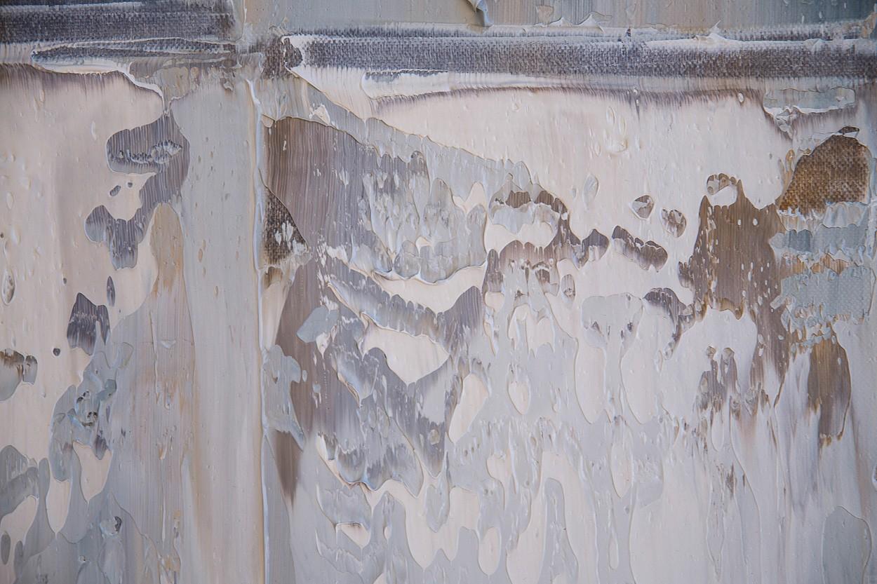 Querschnitt, Detail 4 | Malerei von Lali Torma | Öl auf Leinwand, abstrakt