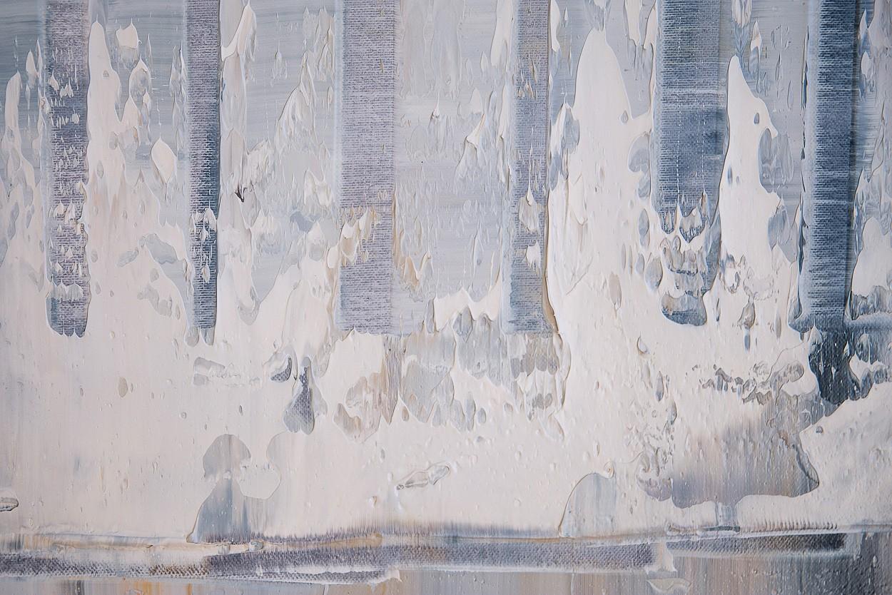 Querschnitt, Detail 2 | Malerei von Lali Torma | Öl auf Leinwand, abstrakt