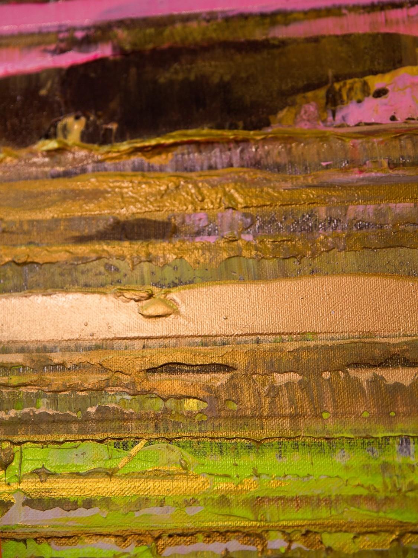 Prisma 13 - Pinker Nil | Malerei von Lali Torma | Acryl auf Leinwand, abstrakt, Detail 5