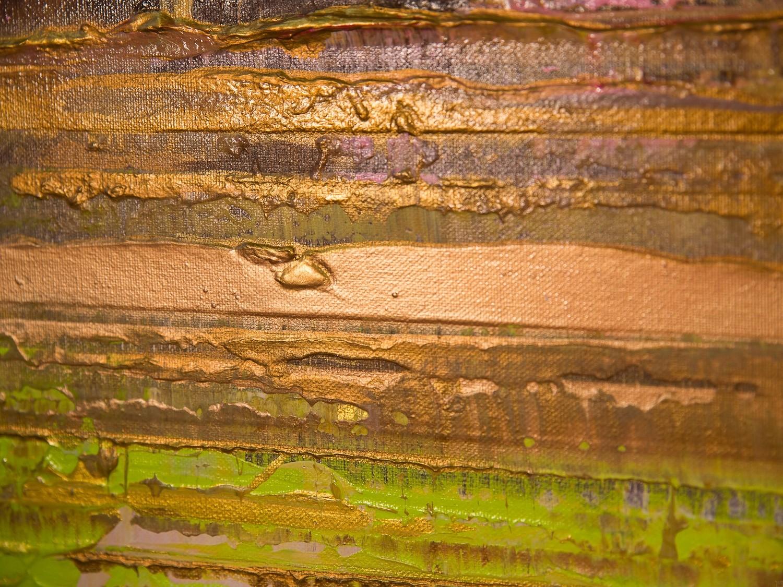 Prisma 13 - Pinker Nil | Malerei von Lali Torma | Acryl auf Leinwand, abstrakt, Detail 6