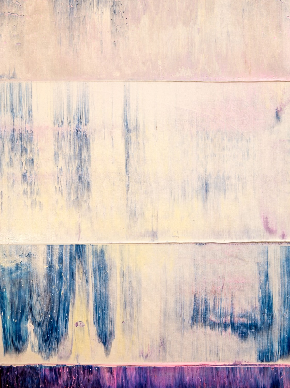 Prisma 14 – Iceberg Under Line | Malerei von Lali Torma | Acryl auf Leinwand, abstrakt, detail05