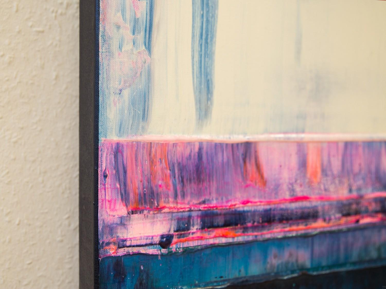 Prisma 14 – Iceberg Under Line | Malerei von Lali Torma | Acryl auf Leinwand, abstrakt, detail04