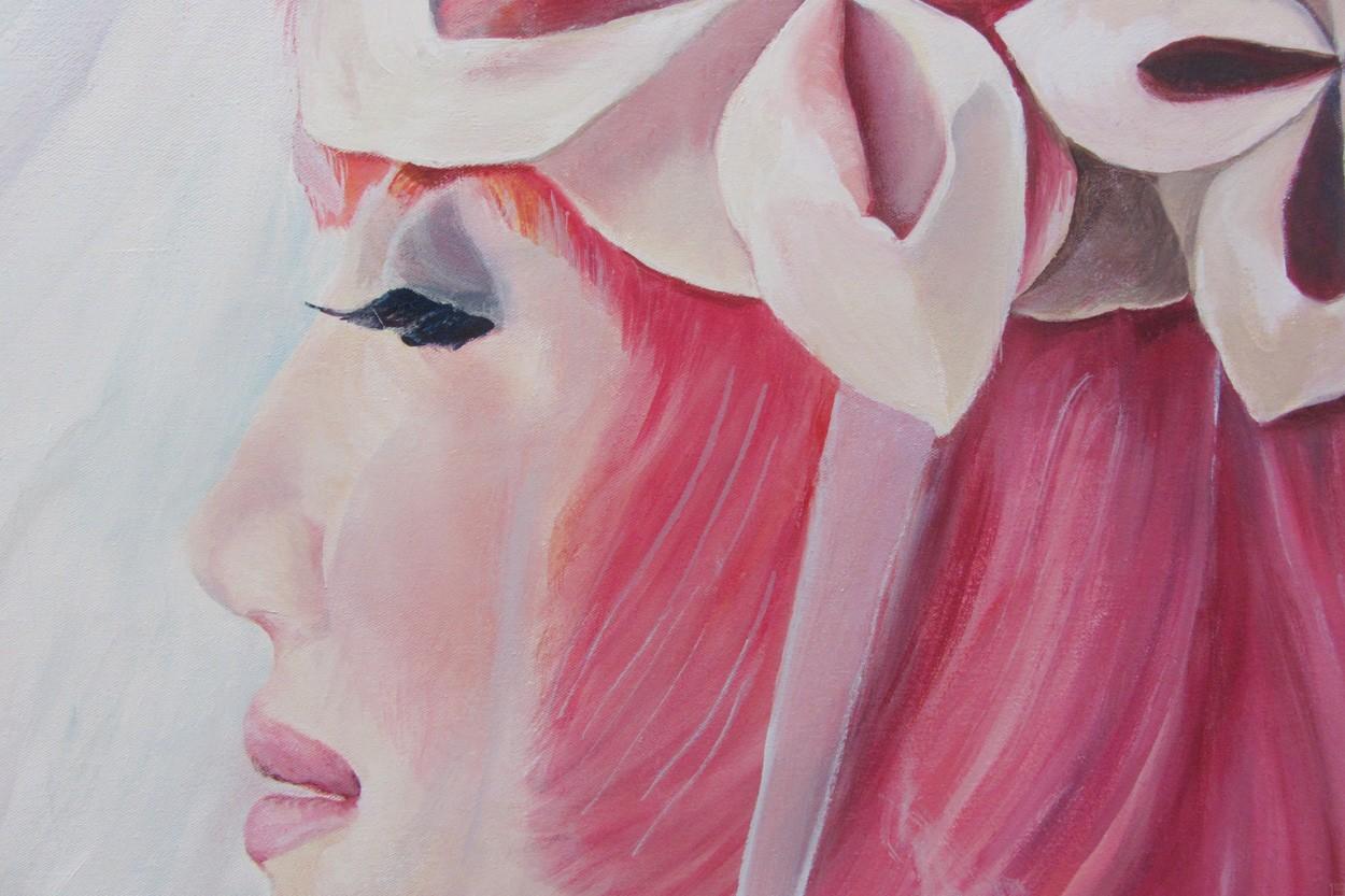 Wollen wir tauschen? | Detail, Malerei von Eva Nordal | Öl auf Baumwolle, realistisch