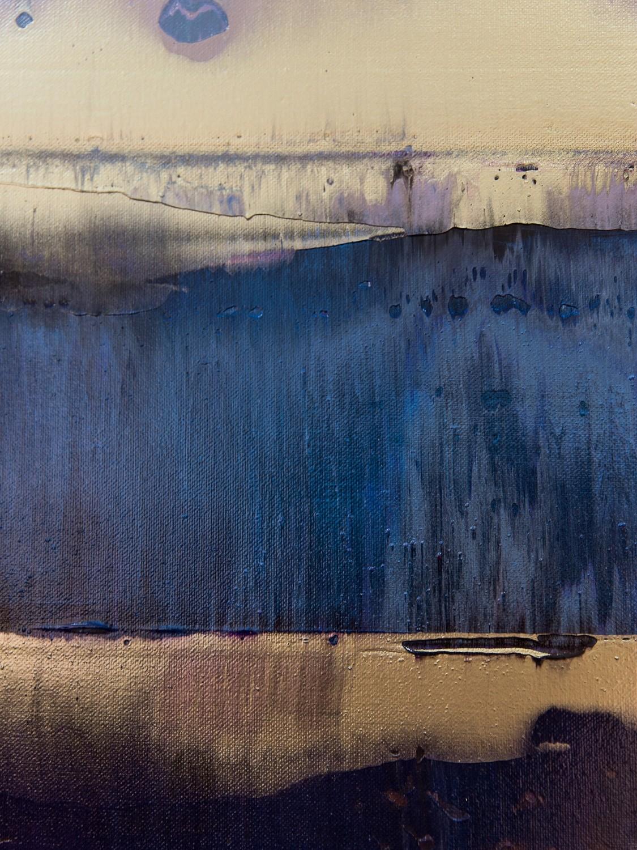 Prisma 17 – Amarant Dunst | Malerei von Lali Torma | Acryl auf Leinwand, abstrakt, Detail 1
