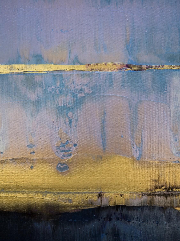 Prisma 17 – Amarant Dunst | Malerei von Lali Torma | Acryl auf Leinwand, abstrakt, Detail 7