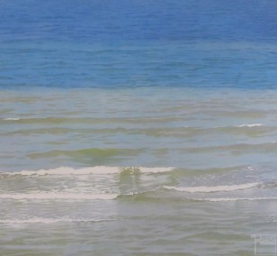 Small Waves | painting by Sven Wiebers | acrylic on cotton, realistic art