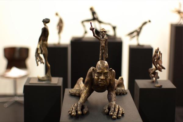 Bronze Skulpturen von Bildhauer Tim David Trillsam