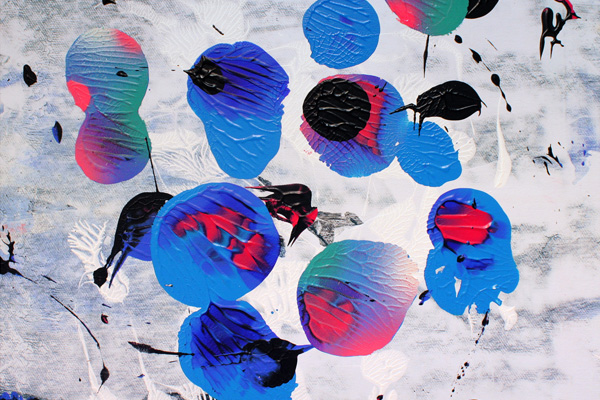 o.T. S1_24 FarbeHolz Serie Malerei von Malwin Faber