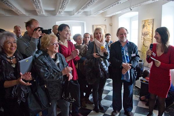 Vernissage in der Galerie mit Jennifer Grasshoff