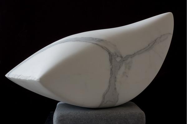 Marmorskulptur von Klaus W. Rieck