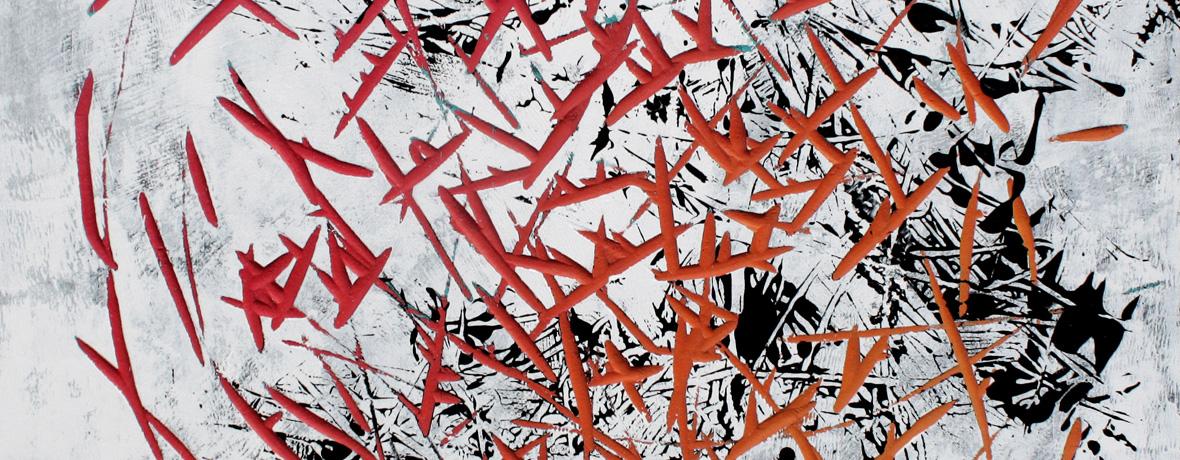 Online Galerie | Malerei o.T. FarbeHolz von Malwin Faber