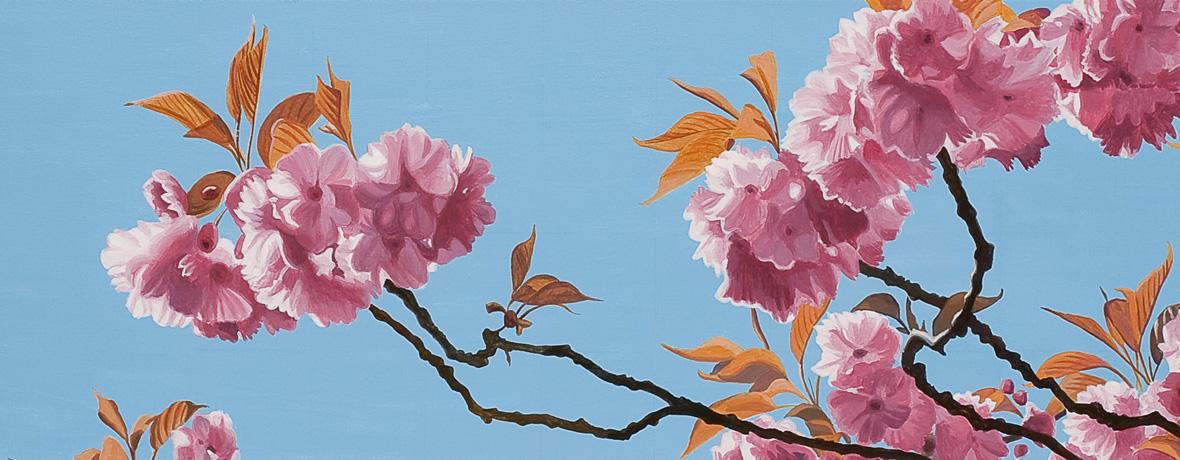 Online Galerie | Malerei Baumbluete von Sven Wiebers