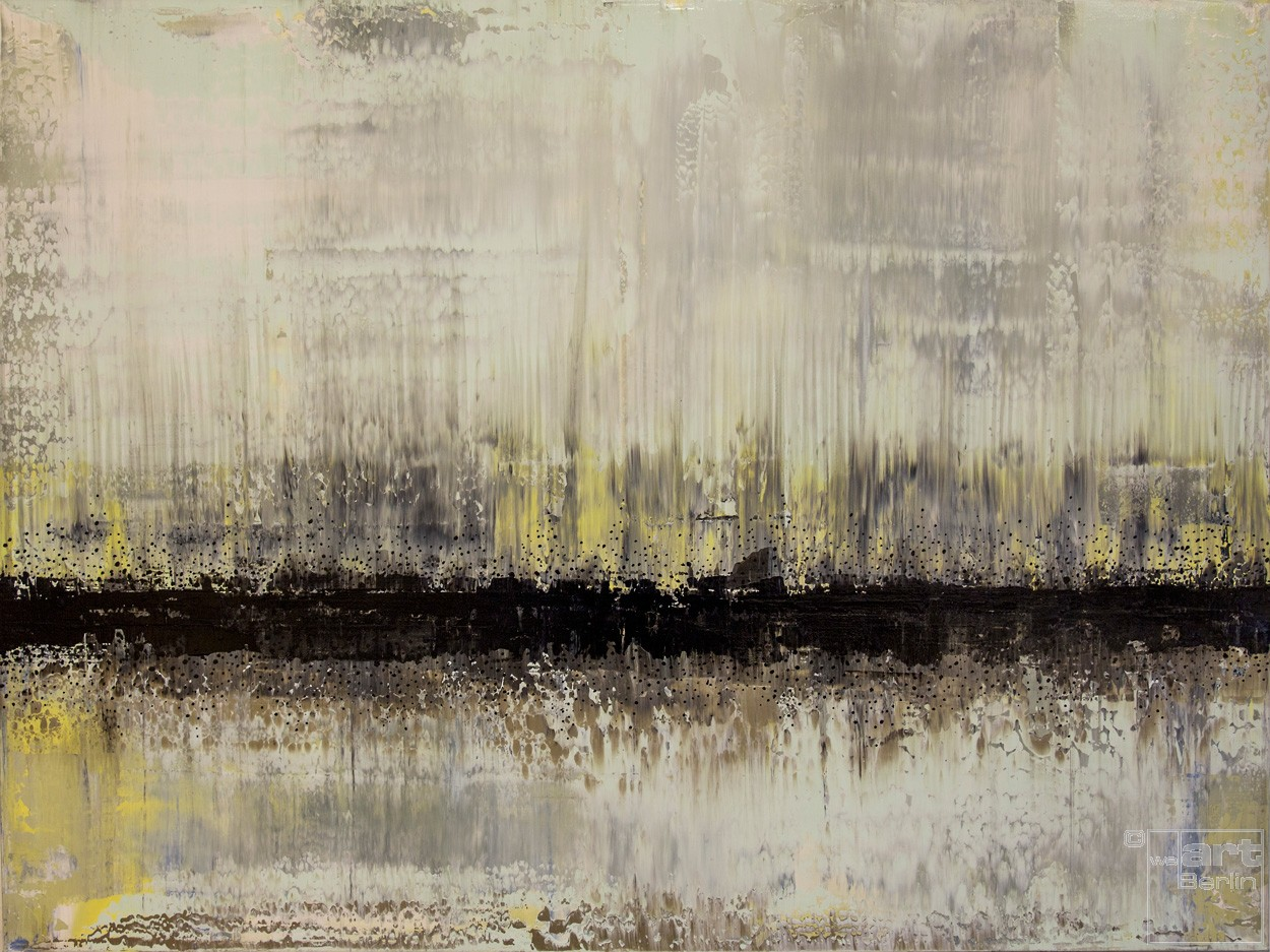 Steinblut | Malerei von Lali Torma | Acryl auf Leinwand, abstrakt