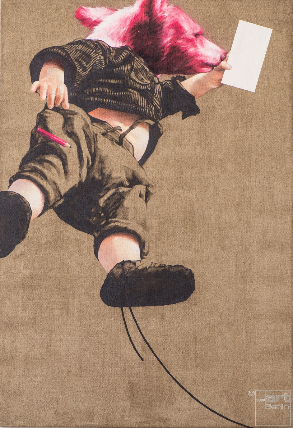 Pflegeleicht | Malerei von Jakob Tory Bardou, innerfields | Acryl auf Leinwand, Urban Art