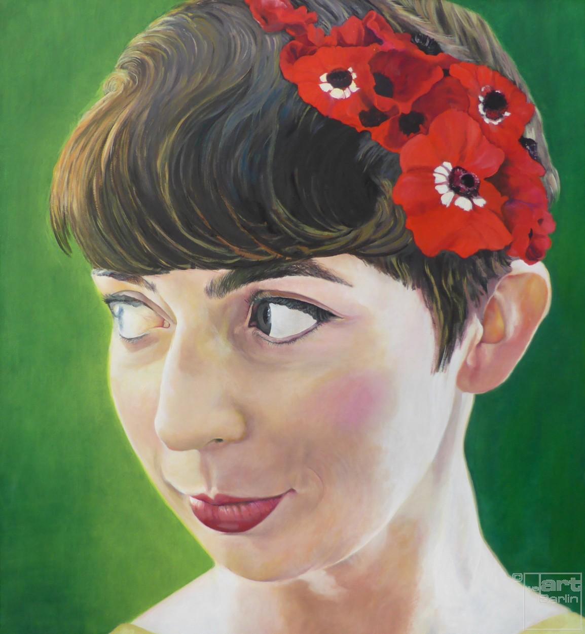 Ja - ich will | Malerei von Eva Nordal | Öl auf Baumwolle, realistisch