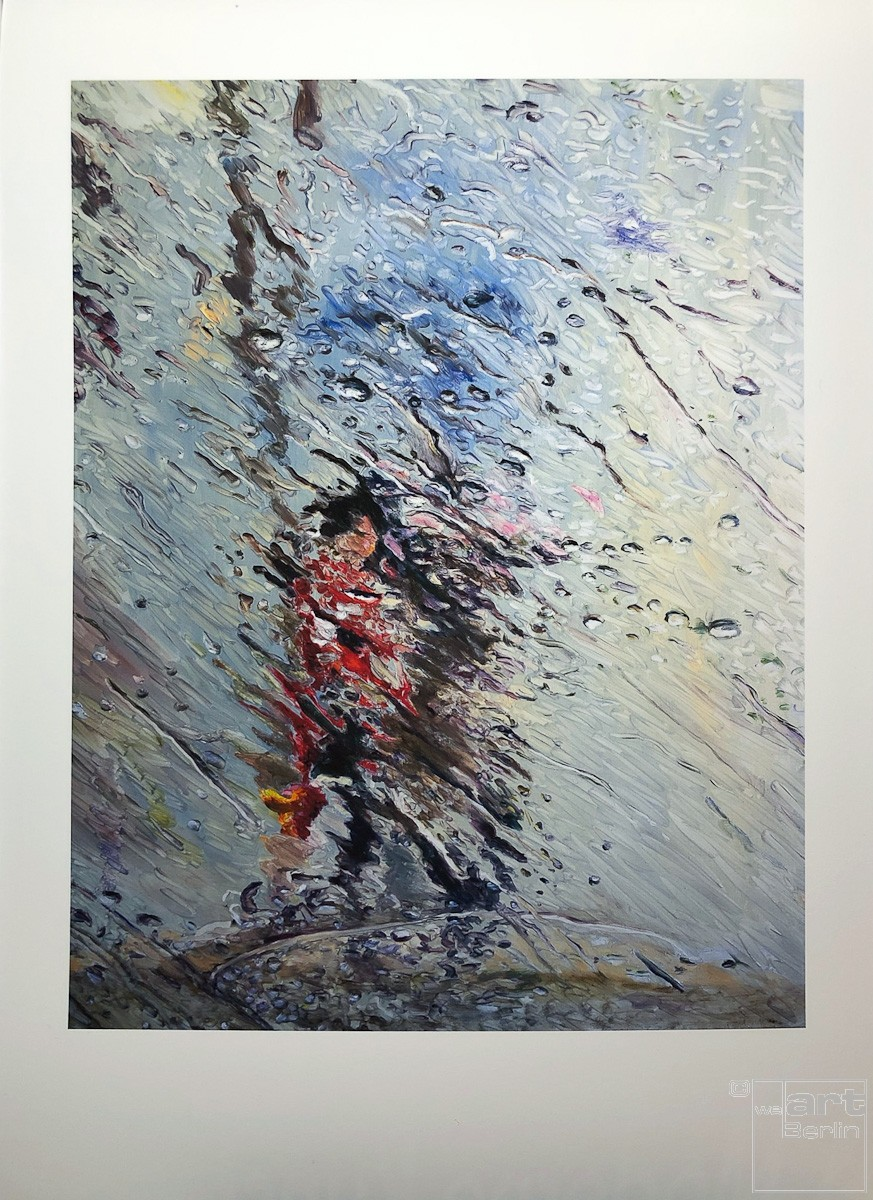 "Kunstdruck ""Fluid"" by Simone Westphal | Fineartprint Hahnemühle, Limitierung 10"