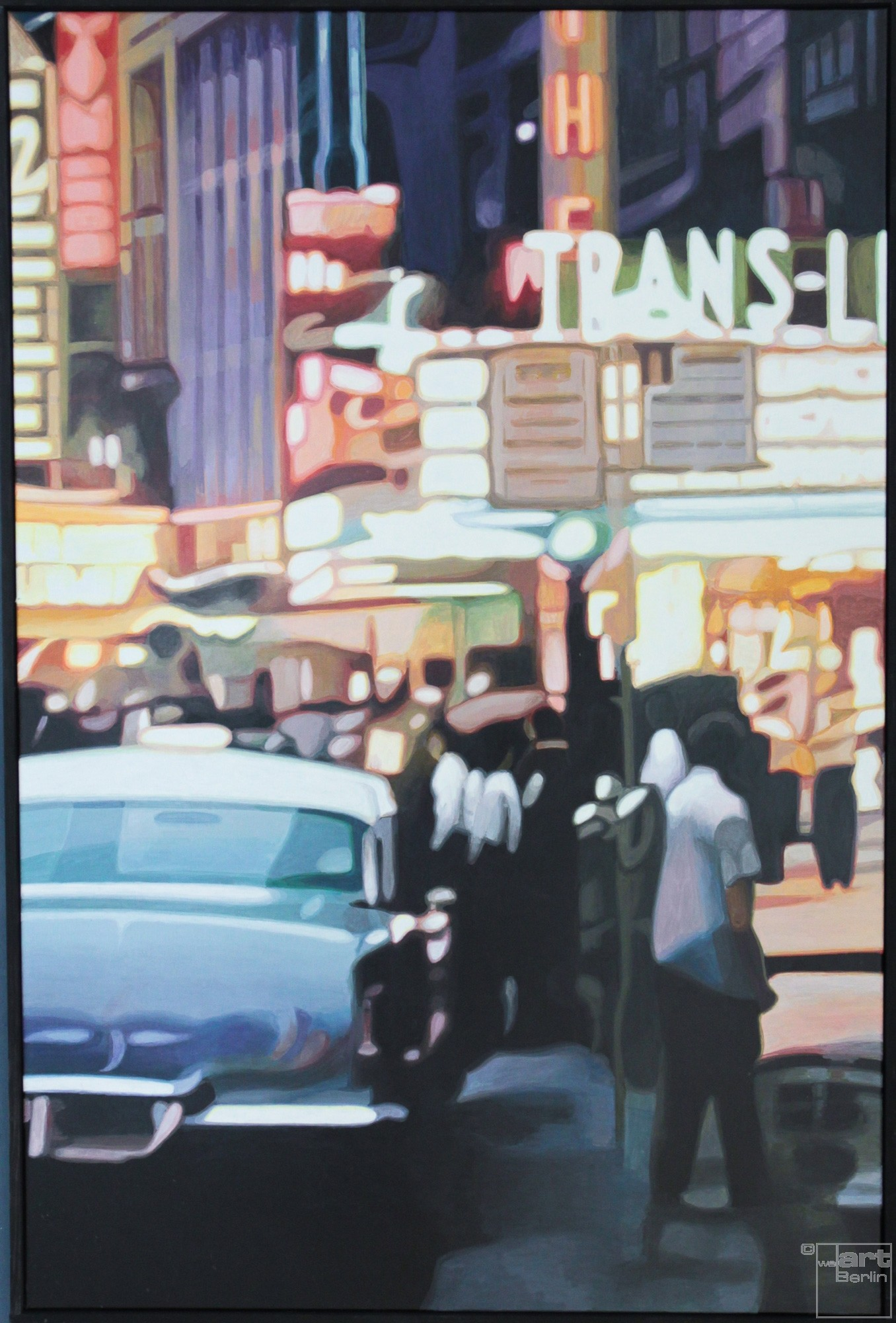 Trans Lux | Malerei von Sven Wiebers | Acryl auf Baumwolle, realistisch