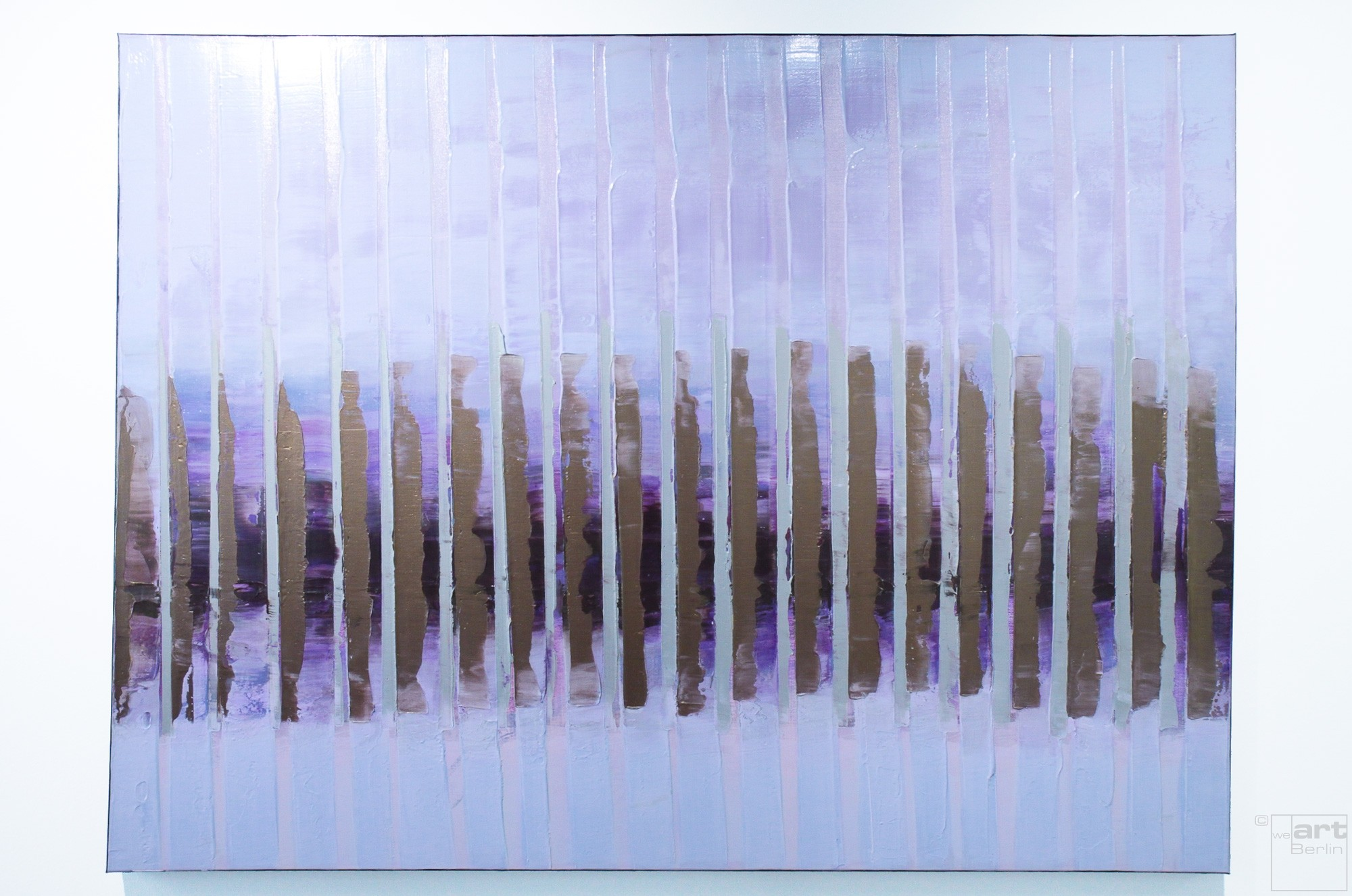 Pink November | Malerei von Lali Torma | Acryl auf Leinwand, abstrakt