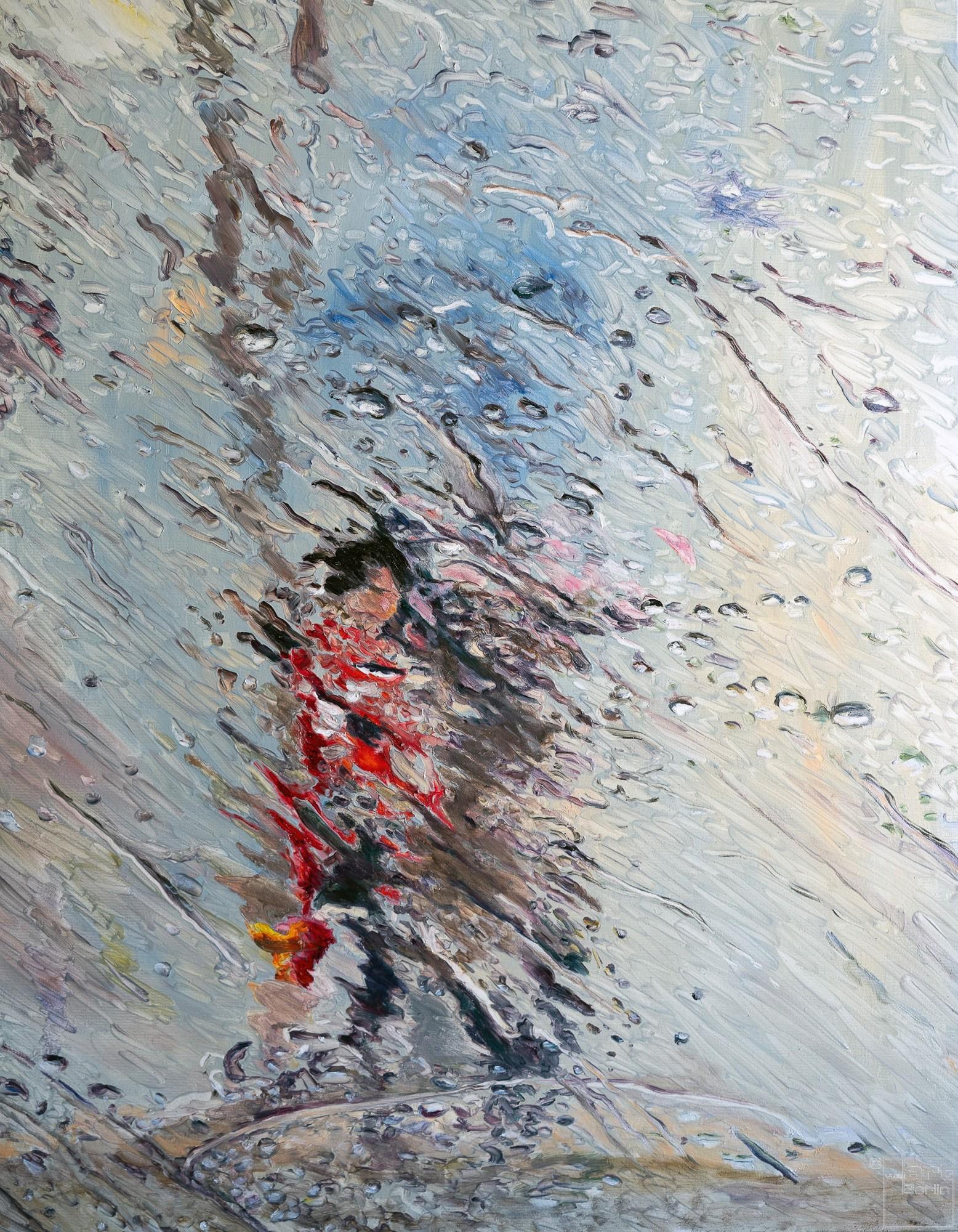 Fluid | Malerei von Künstlerin Simone Westphal, Öl auf Leinwand