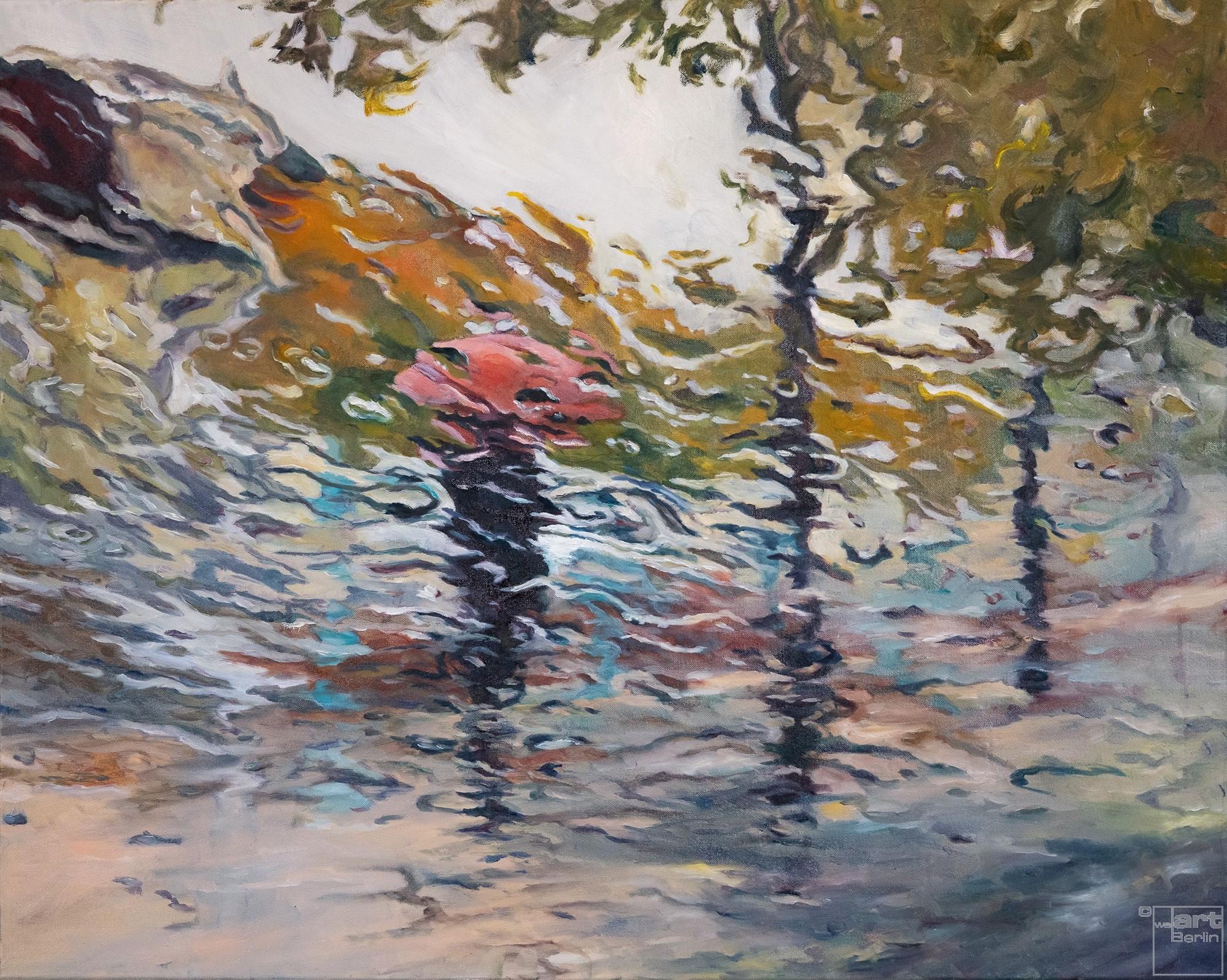 Just on my own | Malerei von Künstlerin Simone Westphal, Öl auf Leinwand