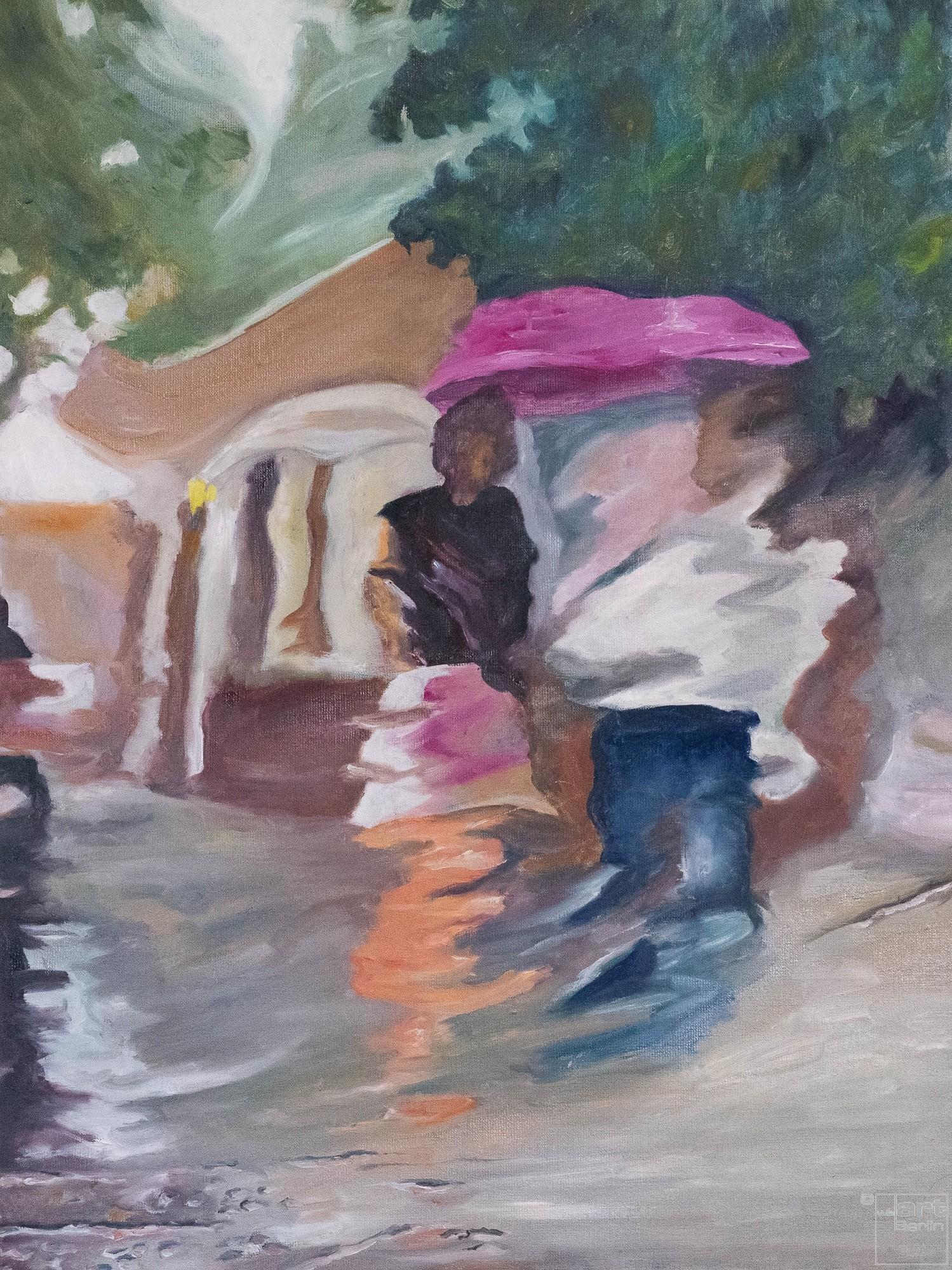 Now and gone | Malerei von Künstlerin Simone Westphal, Öl auf Leinwand