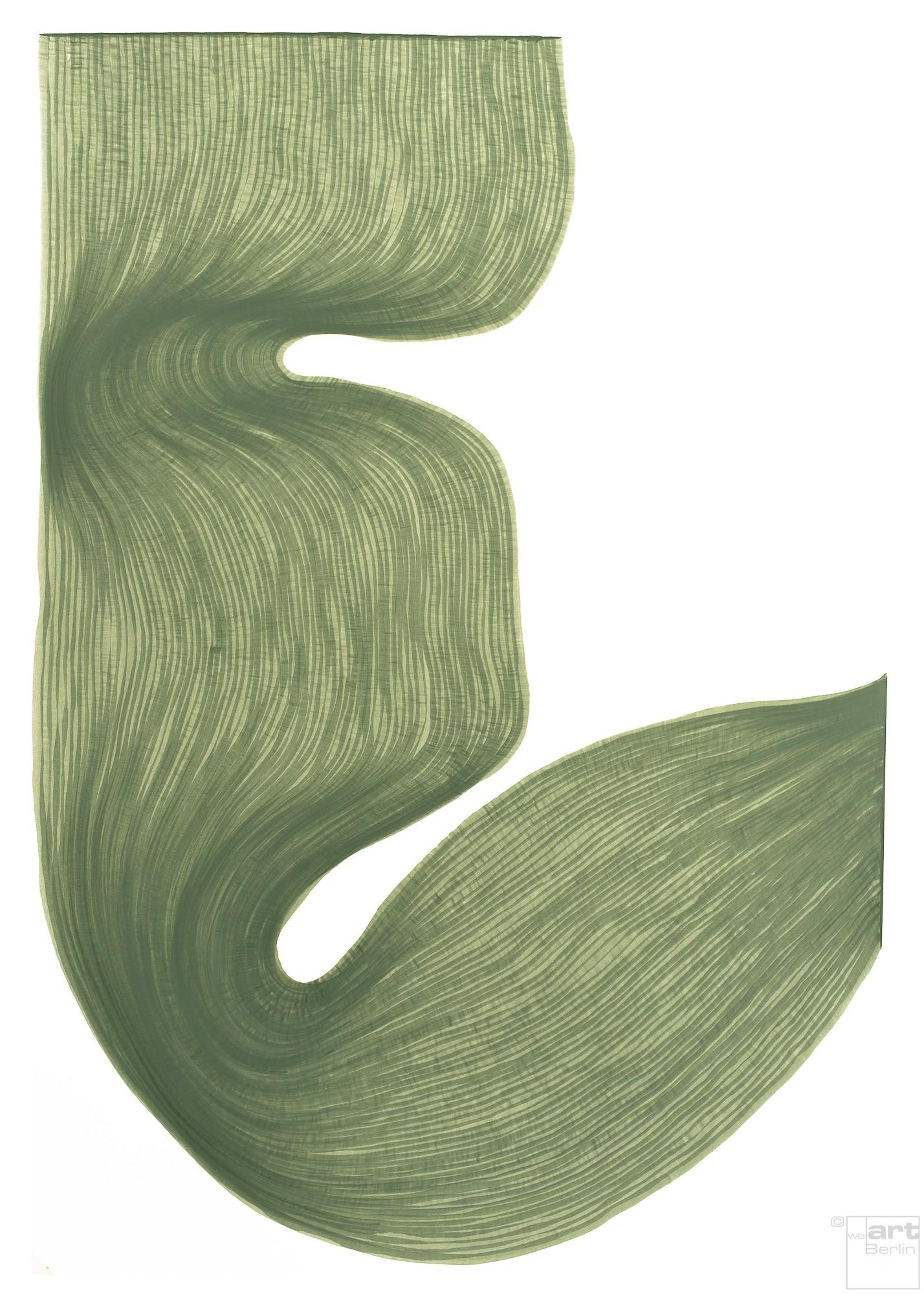 Poudre d'Auvergne  | Lali Torma | Zeichnung | Kalligraphietusche auf Papier