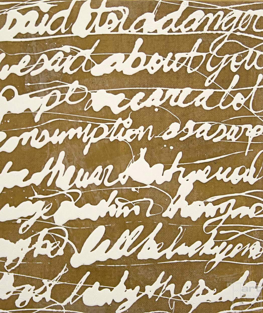 Malerei Befehlen und Erobern #51   Künstler Marek Schovanek, Lack und Bienenwachs auf Leinwand, Serie Command and Conquer