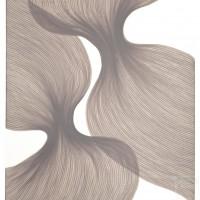 Dusty Lavender Sheer Folds