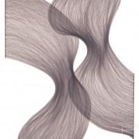 Smoky Lavender Sheer Folds